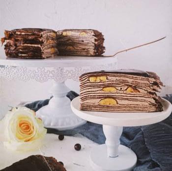 sweetologistco Chocolate Banana Crepe