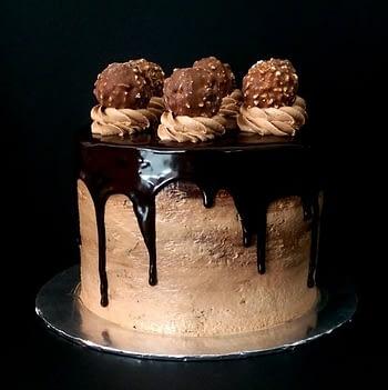 6x4 nutella cake with ferrero rm130