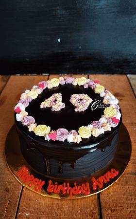 Eggless Choc Cake