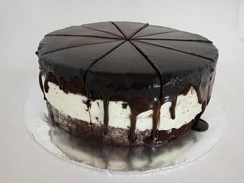 Dark Chocolate Oreo Cheese Cake