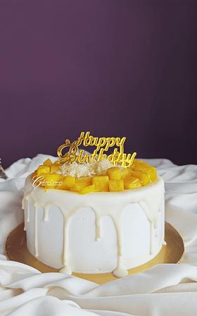 Mango Shortcake 1