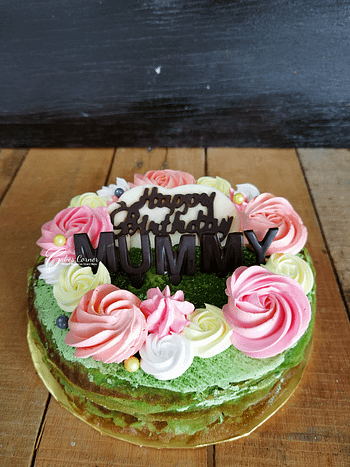 7 Matcha Cake