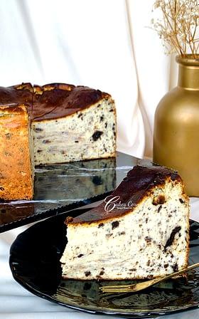 Burnt Oreo Cheesecake