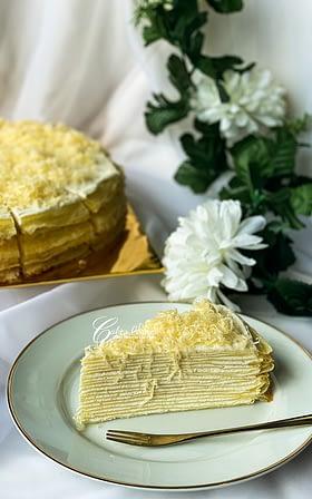 Cheesy Cheese Crepe