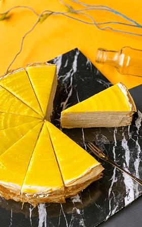 Lemon Cheese Crepe