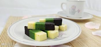 BELACAN LUMUT CHEESE STEAMED CAKE