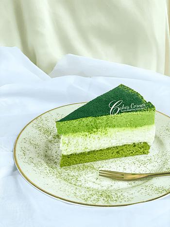 Green Tea Latte Mousse