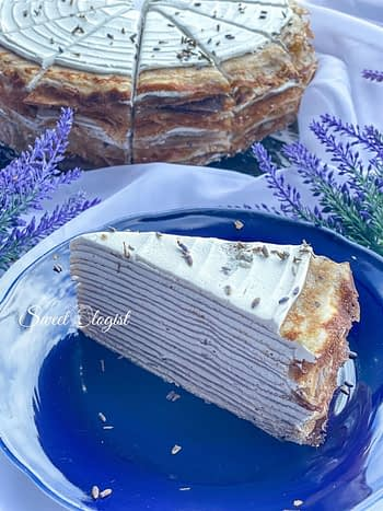lavender crepe