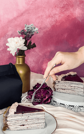 Blueberry Cheese Crepe Cake 14890d33c9