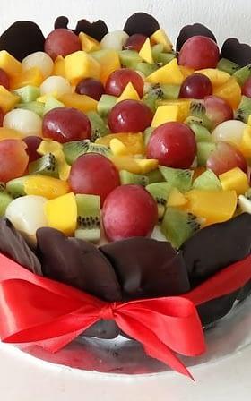 Standard size fruit cake