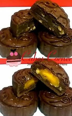 Cocoa Tiramisu Lotus Mooncake