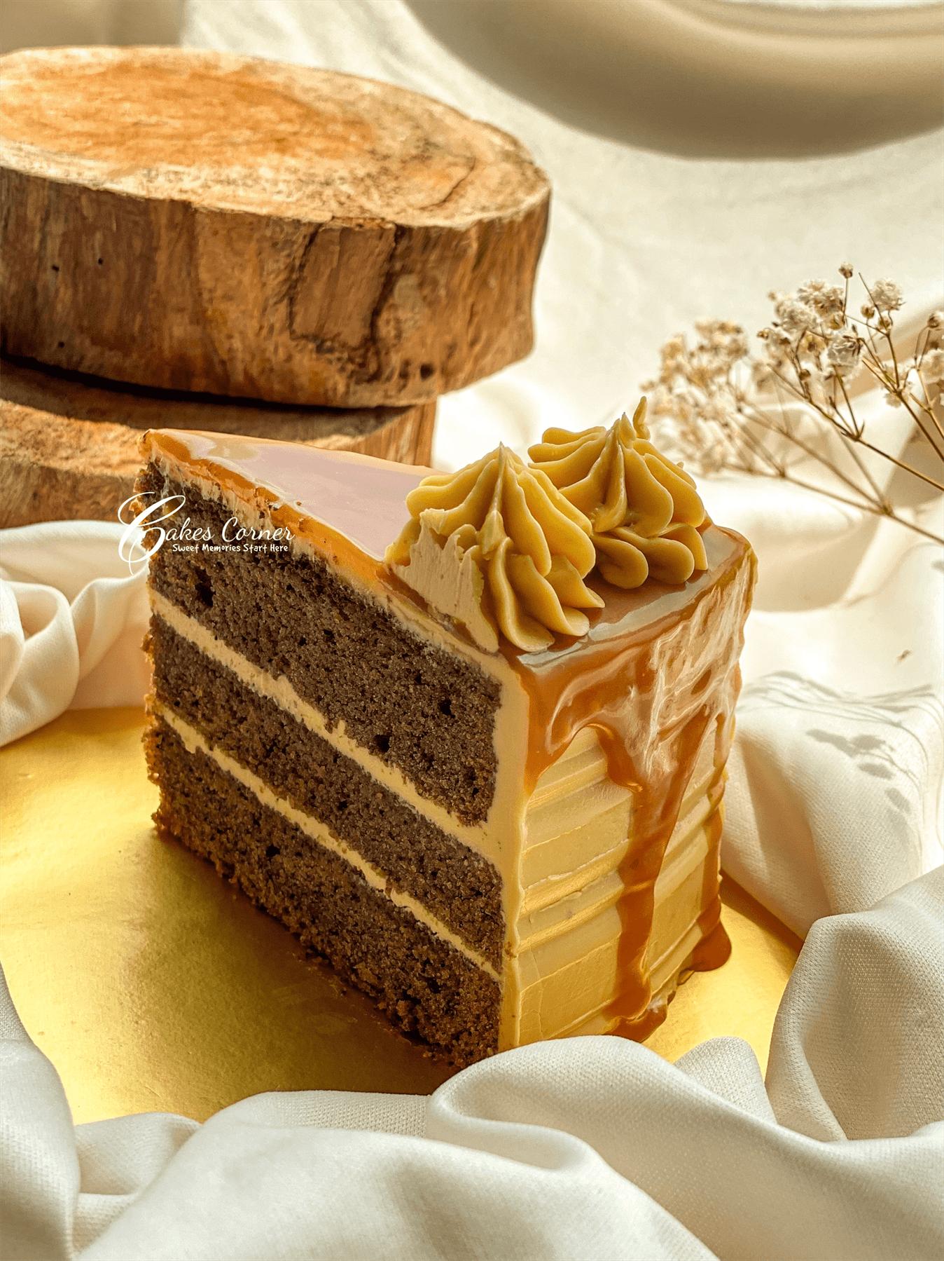 Caramel Macchiato Buttercream Cake